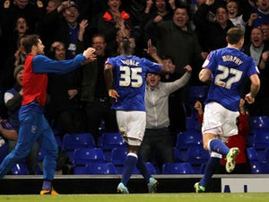 Half-Time Report: Ipswich two up against Birmingham