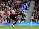 Everton's Marouane Fellaini in action against Sunderland on April 20, 2013