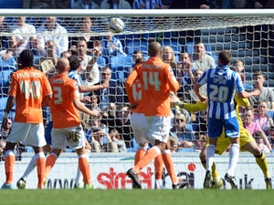 Result: Brighton thrash Blackpool