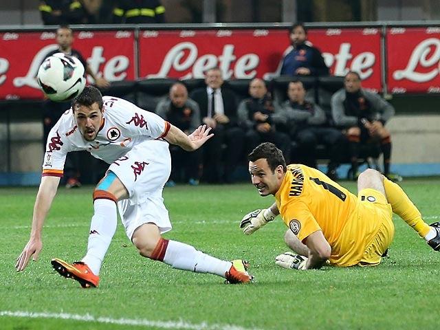 Result: Roma through to Coppa Italia final