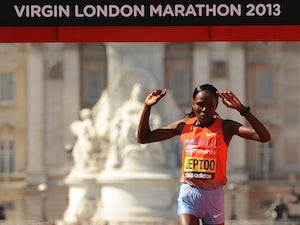 Result: Jeptoo wins women's London Marathon