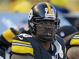 Pittsburgh Steelers defensive tackle Steve McLendon during the fourth quarter of the match with the Cincinnati Bengals on December 23, 2012