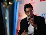 Former Pakistani cricketer Wasim Akram at an awards bash on September 17, 2009