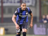 Inter Milan defender Alvaro Pereira in action during his side's Serie A clash with Bologna on March 10, 2013