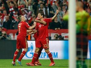 Team News: Gomez starts for Bayern