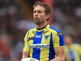 Warrington Wolves player Brett Hodgson during the Super League match against Hull KR on March 3, 2013