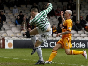 Champions Celtic lose at Motherwell