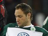 Wolfsburg's Jan Polak in action against Bayer Leverkusen on March 5, 2011