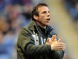 Watford manager Gianfranco Zola during the Championship match against Leicester on April 26, 2013