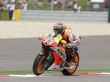 Marc Marquez during the Texas MotoGP on April 21, 2013