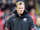 Saracens director of rugby Mark McCall on December 16, 2012
