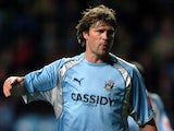 Coventry City's Arjan De Zeeuw during a Championship match on November 12, 2007