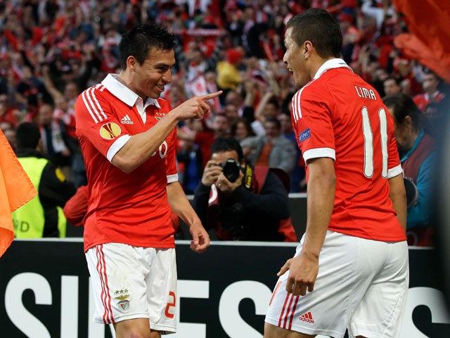 Result: Benfica reach Europa League final