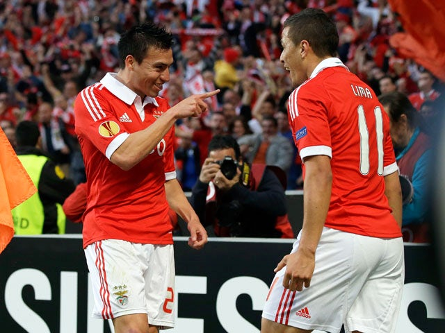 Result: Benfica reach Europa League final