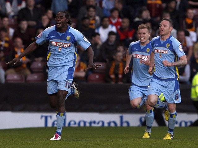 Result: Burton win five-goal thriller