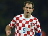 Croatia's Igor Tudor in action on June 13, 2006