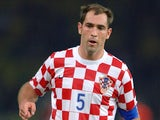 Croatia's Igor Tudor in action on June 13, 2006