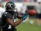 Jacksonville Jaguars wide receiver Justin Blackmon in action on December 23, 2012