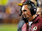 Redskins head coach Mike Shanahan on January 6, 2013