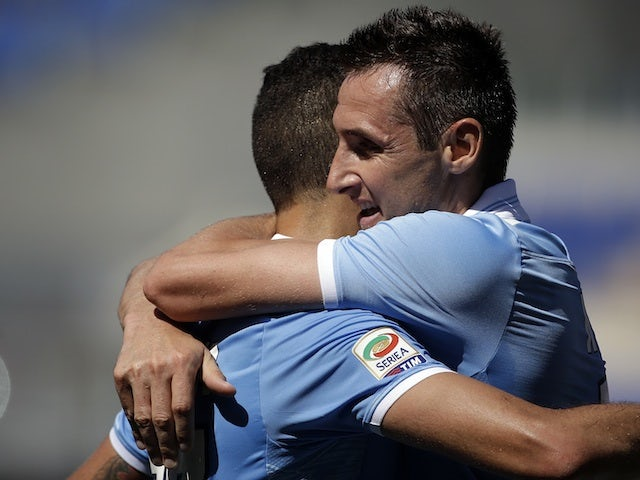 Result: Klose scores five in Lazio romp