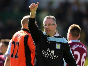 Lambert pleased with pre-season progress