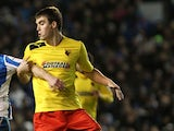 Watford's Tommie Hoban during the Championship match against Brighton on December 29, 2012