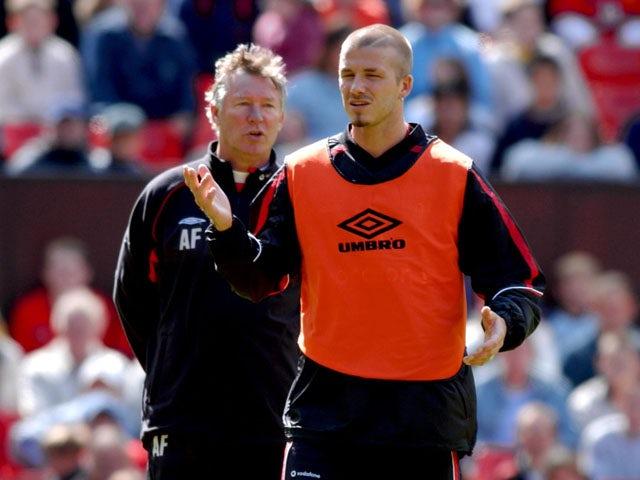 Ferguson, Beckham appear in 'Beano'