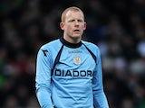 St Mirren goalkeeper Craig Samson in action on January 27, 2013