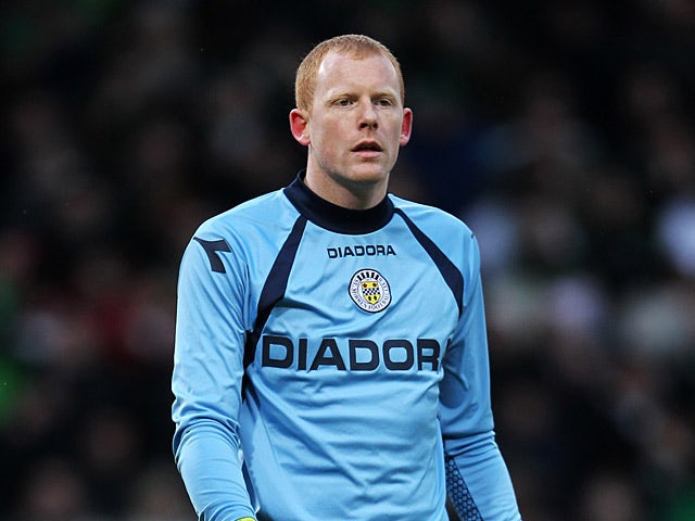 St Mirren goalkeeper Craig Samson in action on January 27, 2013