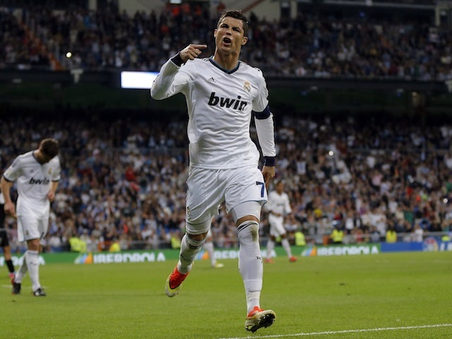 Result: Real Madrid hit Malaga for six