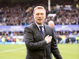 Everton manager David Moyes during his last home match in charge of the club on May 12, 2013