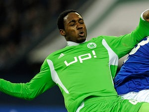 Wolfsburg's Giovanni Sio in action on February 19, 2012
