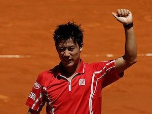 Result: Nishikori moves into Madrid second round