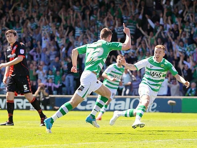 Result: Ed Upson sends Yeovil to Wembley