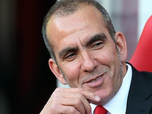 Sunderland boss Paolo Di Canio smiles prior to kick off in the match against Stoke on May 6, 2013