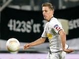Borussia Monchengladbach's German midfielder Patrick Herrmann during the Europa league match against Marseille on November 8, 2012