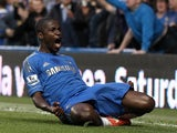 Chelsea's Ramires celebrates his goal against Spurs on May 8, 2013