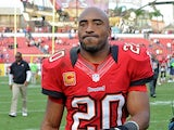 Tampa Bay Buccaneers Ronde Barber walks off the field after a match on December 23, 2012