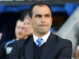 Wigan Athletic manager Roberto Martinez during the match with Swansea City on May 7, 2013