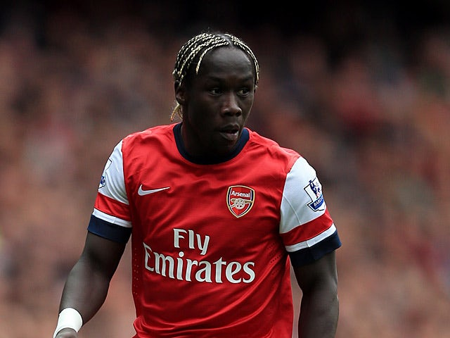 Arsenal's Bacary Sagna in action on April 28, 2013