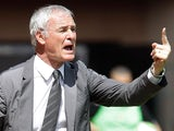 Monaco boss Claudio Ranieri gestures to his players on the touchline on May 4, 2013