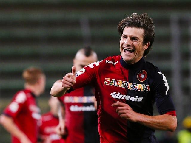 Result: Dessena goal gives Cagliari win