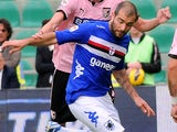 Sampdoria's Enzo Maresca in action on November 11, 2012