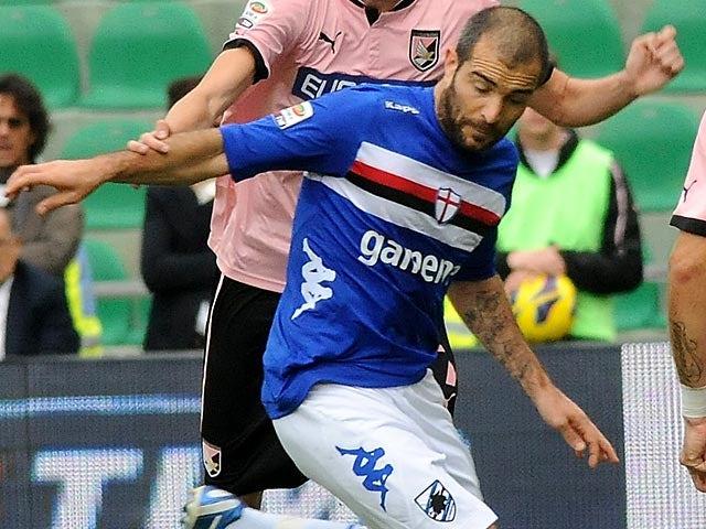 Sampdoria's Enzo Maresca in action on November 11, 2012