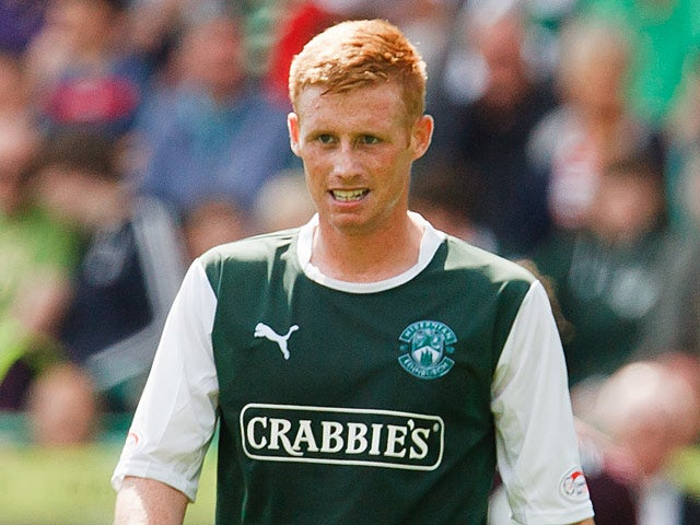 Hibernian's Eoin Doyle in action on August 12, 2012