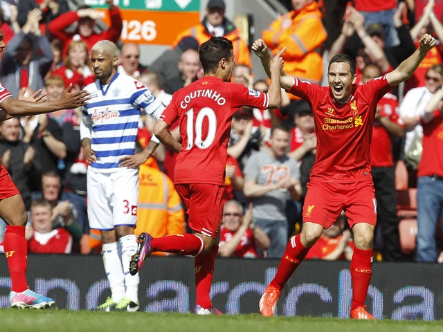 Result: Coutinho strike gives Liverpool win