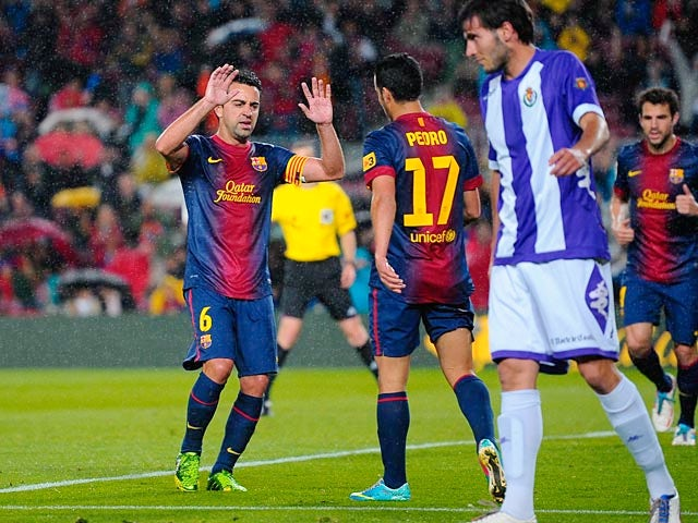 Result: Barcelona overcome Real Valladolid