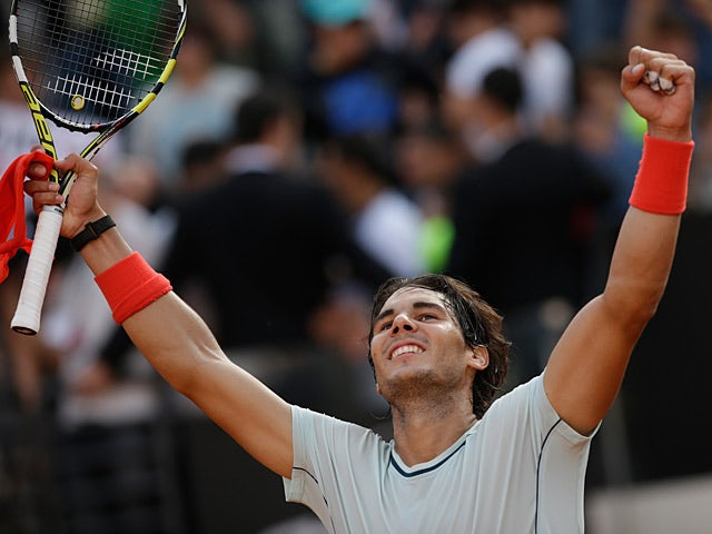 Result: Nadal storms into Rome final