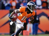 Denver Broncos wide receiver Trindon Holliday in action on January 12, 2013
