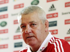 Gatland adds physicality for Australia clash
